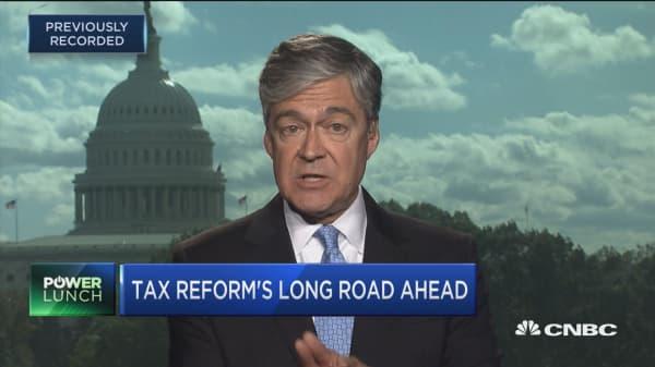 Tax reform's long road ahead