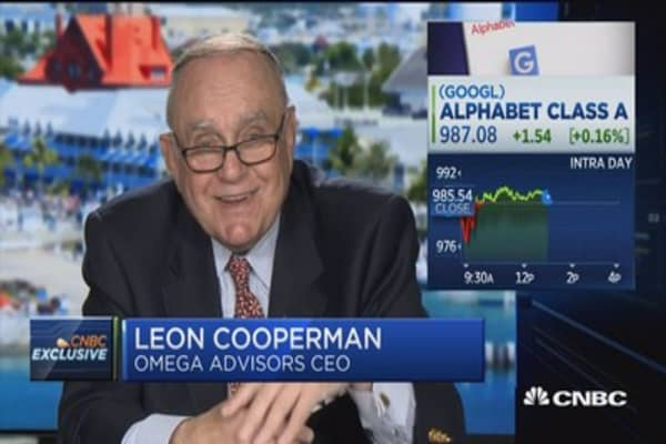 Leon Cooperman: My largest position in Google