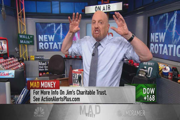 Jim Cramer on the rotation into new 'money magnet' stocks
