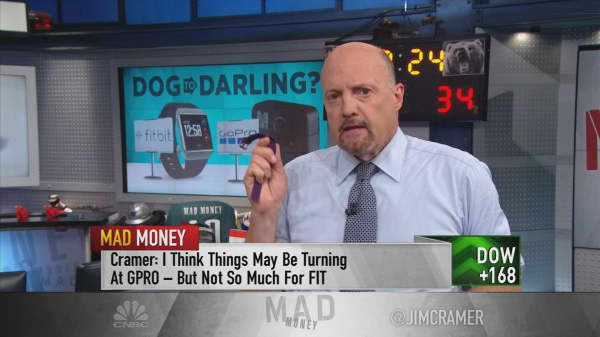Cramer: GoPro and Fitbit's dog days could be over