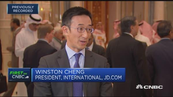 So much change doing on in Saudi Arabia: JD.com International CEO