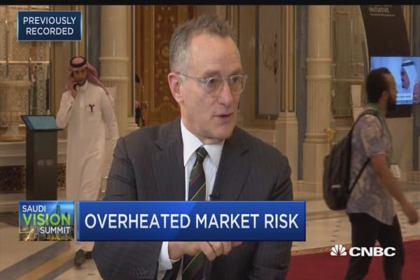 Howard Marks: I see cautionary signs but wouldn't want to be out of the market