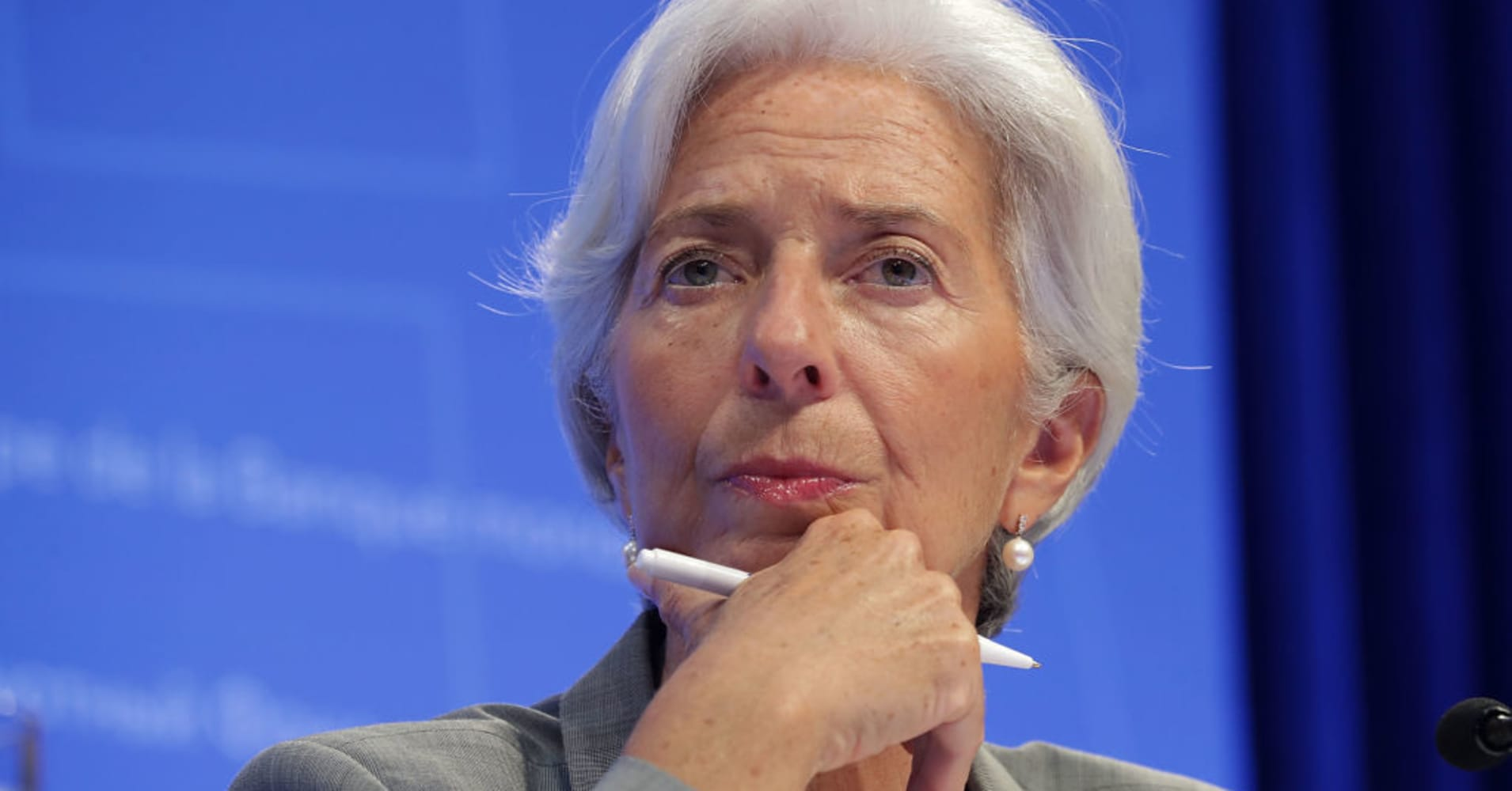 IMF Christine Lagarde on Jamal Khashoggi's disappearance, Saudi Arabia