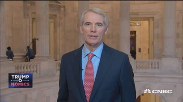 Sen. Rob Portman: GOP enthusiasm about tax reform includes Sen. Flake and Sen. Corker