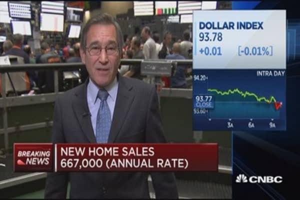 September new home sales up 18.9%