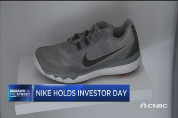 Nike holds investor day