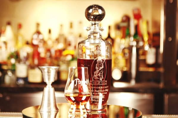 Pappy Old Rip Van Winkle is one of the world's rarest bourbons.
