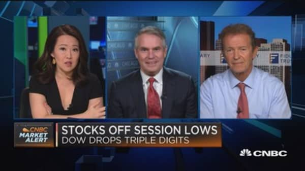 Sell-off shows there's healthy skepticism: Fiduciary Trust's Peter Andersen