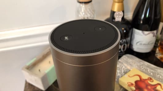 Controls are similar to the original Echo. Twist the top to adjust the volume.