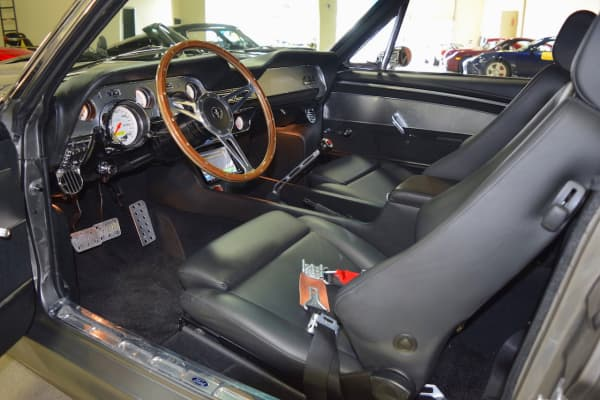 "Custom-designed ""Eleanor"" interior"