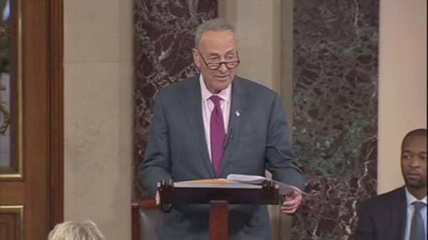 Sen. Schumer calls Treasury Secretary Mnuchin a liar and a 'suck up' to Trump
