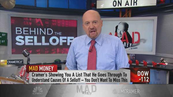 Cramer's rules for earnings season sell-offs