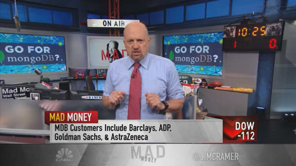 Cramer goes over MongoDB's IPO to see if the software stock can tap into gains
