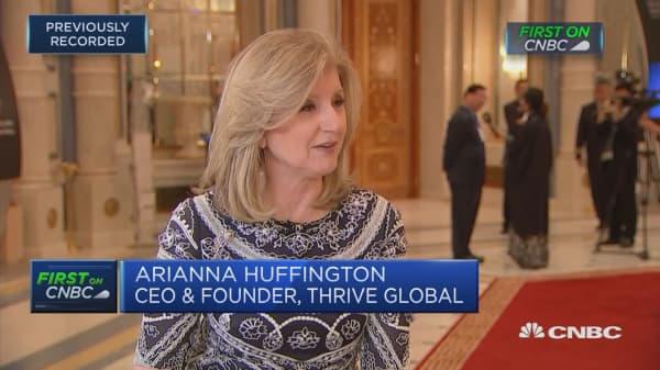 Uber has changed internally and externally, Arianna Huffington says