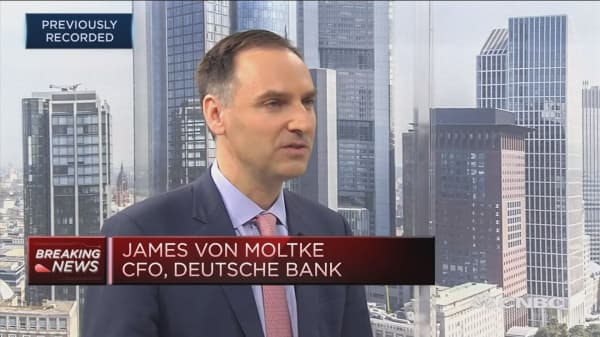 Deutsche Bank CFO: Fixed income performance in line with peers