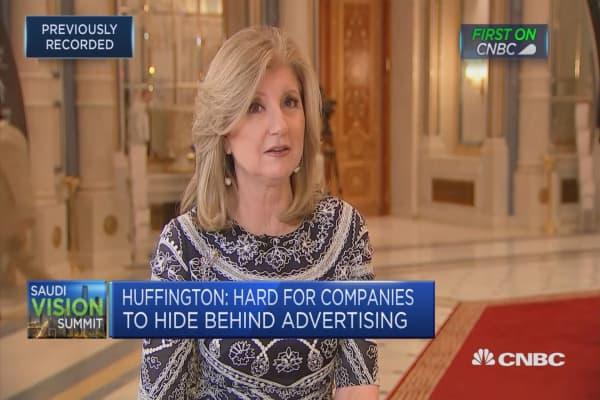 Social media makes it easier to reveal harassment: Arianna Huffington