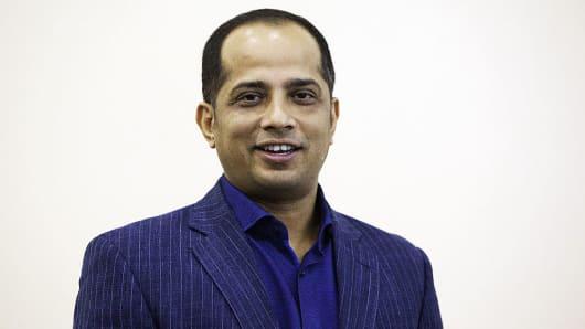 Sopnendu Mohanty, director de fintech de la Autoridad Monetaria de Singapur (MAS).