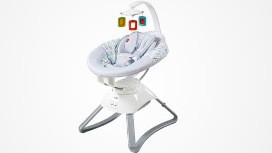 Fisher Price Recalls 65000 Baby Seats Due To Fire Hazard