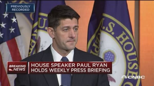Speaker Ryan: Budget is really important for getting tax reform done