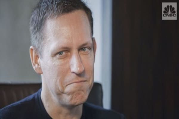 Peter Thiel says people are 'underestimating' bitcoin