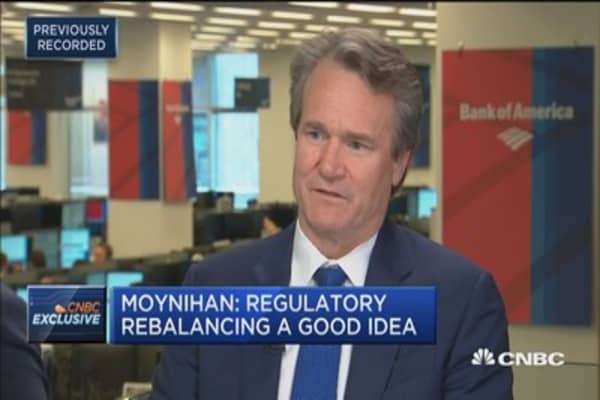 BofA CEO Moynihan predicts 'immediate impact' if tax reform is passed