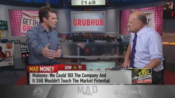 Billions of dollars have been 'wasted' by VCs and rivals trying to compete with GrubHub, CEO says