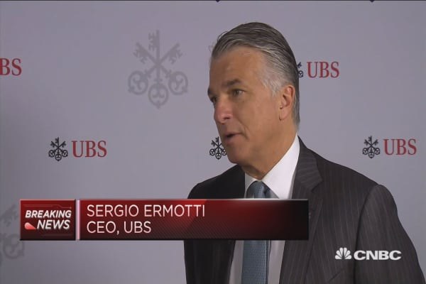 Asia is a fantastic opportunity for us: UBS CEO