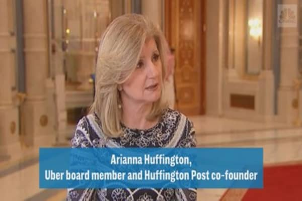 Ariana Huffington on sexual harassment in the business world