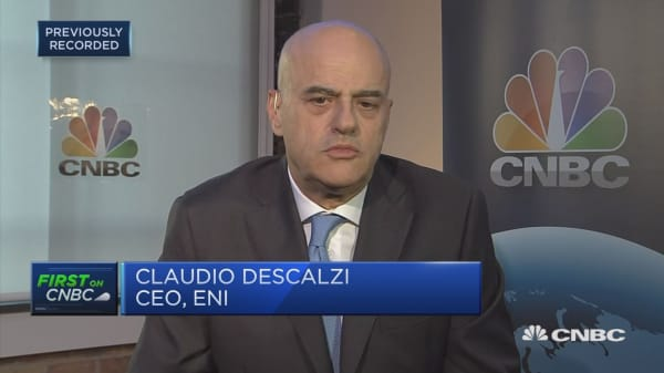 Oil industry is adapting to new reality, ENI CEO says
