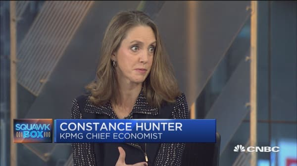 KPMG's Constance Hunter: A lot of momentum for 3% growth in Q4