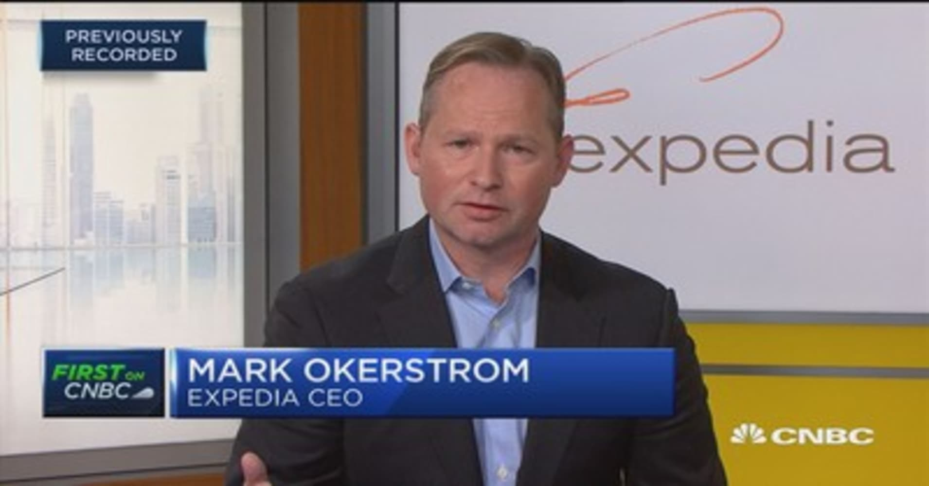 Expedia Ceo Our Stock Plunge Is A Concern But Were Optimistic