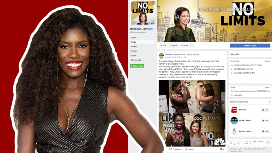 Here's the advice Uber's Bozoma Saint John wishes she ignored from a female executive early in her career