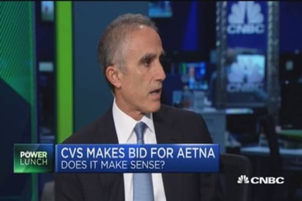 CVS is under pressure in their retail pharmacy business: Fmr. Universal American CEO