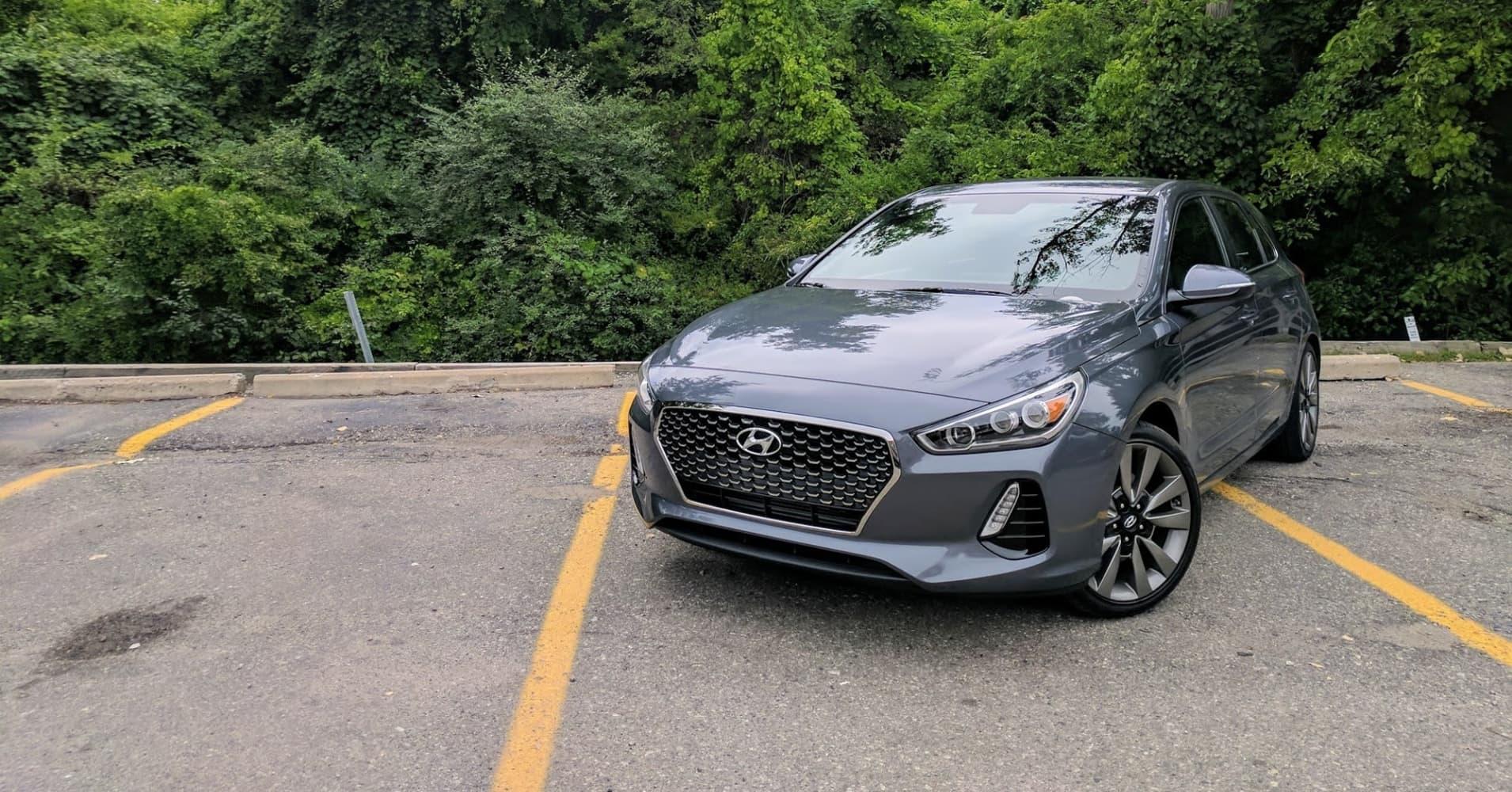 Hyundai Elantra GT Sport test drive.com