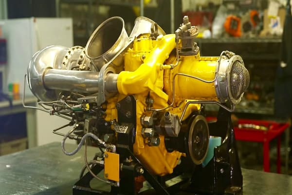 $125,000 Rolls Royce-Allison helicopter engine