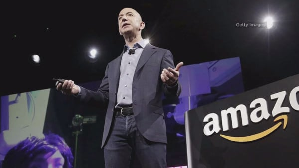Amazon just added a FedEx. Stock up nearly $62 billion in a single day