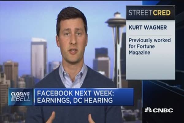 Facebook earnings the day they appear on Capitol Hill is strategic: Recode's Kurt Wagner