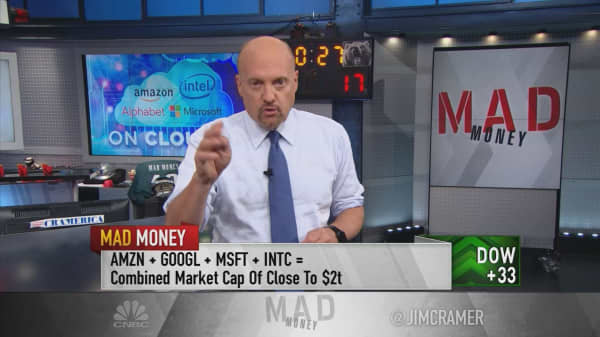 Cramer: Why Amazon, Alphabet, Microsoft and Intel are still buys after monster earnings reports
