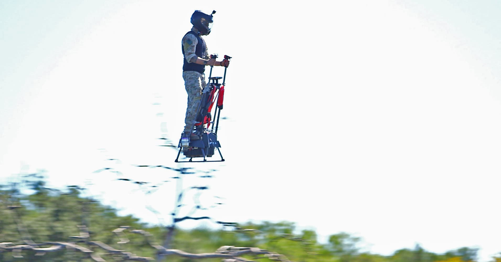 Finally, someone has designed a real flying hoverboard — and it flies at 80mph