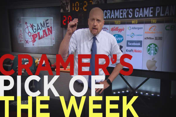 Cramer Remix: Mastercard is my stock pick of the week