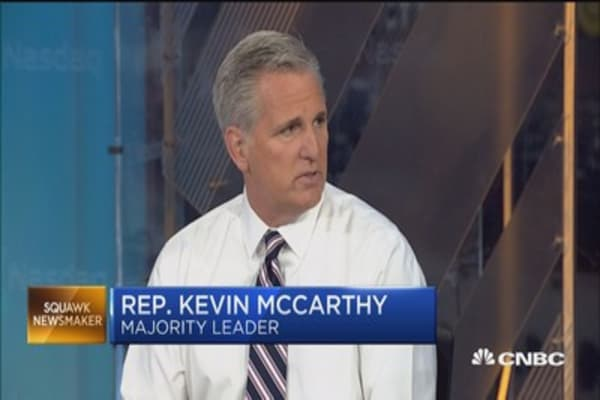 Rep. Kevin McCarthy: Stock market will be affected if we don't get tax reform done