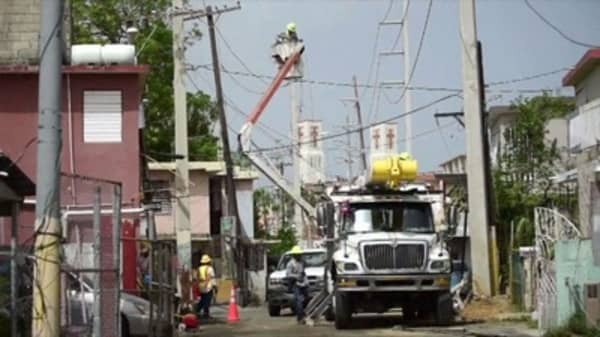Puerto Rico scraps contract with Whitefish Energy
