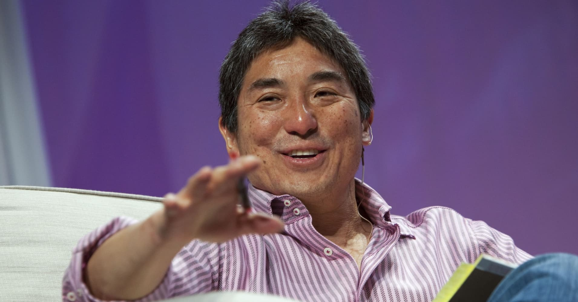 Guy Kawasaki speaks at the Macworld 2010 conference.