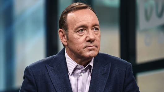 Kevin Spacey attends the Build Series to discuss his new play 'Clarence Darrow' at Build Studio on May 24, 2017 in New York City.