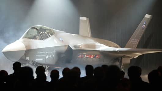 Lockheed Martin Corp.'s F-35 jet in Fort Worth, Texas.