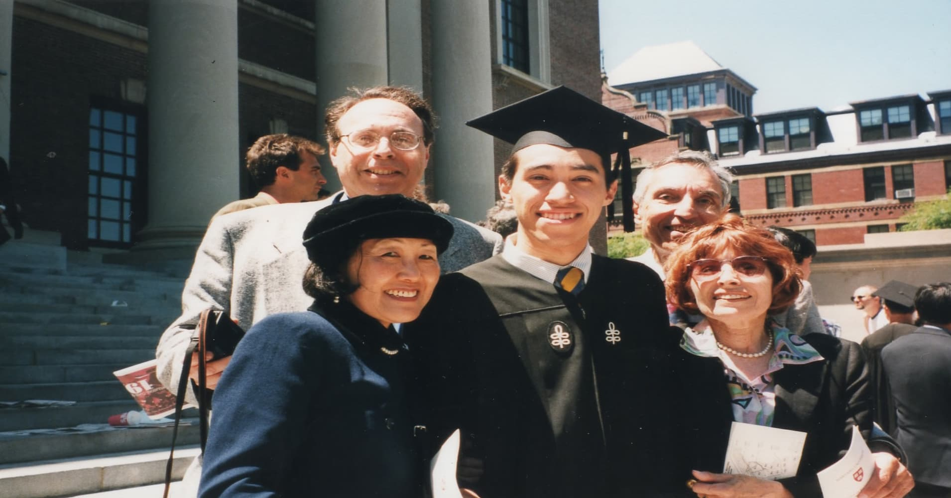 Ben Kaplan graduating from Harvard