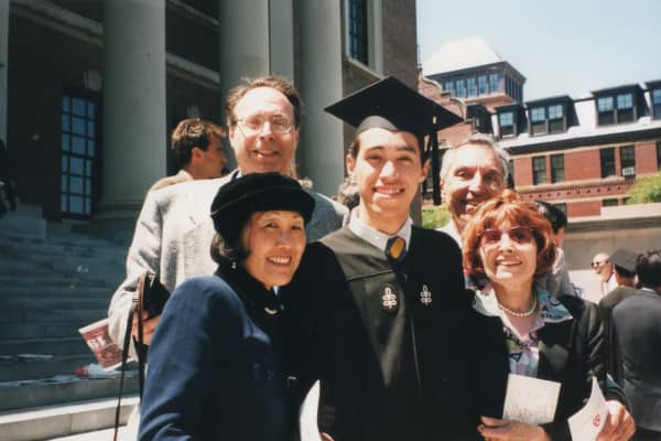 Ben Kaplan graduating from Harvard