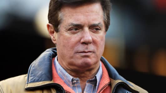 Former Donald Trump presidential campaign manager Paul Manafort