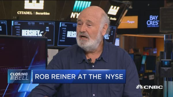 Director Rob Reiner at the NYSE