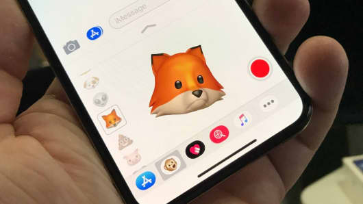 This animoji is me as a sad fox :(
